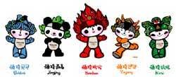 Mascotes das olimpíadas