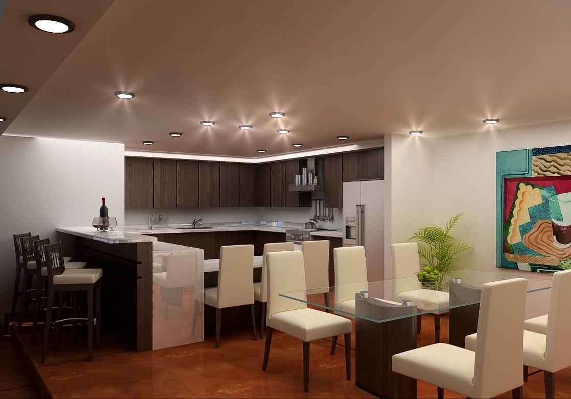 Karla denis meza mu oz arquitecta cocina comedor for Modelos de cocina comedor modernos