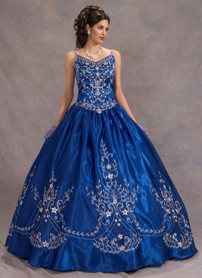 Vestidos De Anos Color Azul