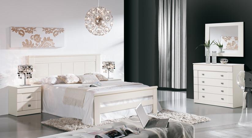 Decoracion dise o un dormitorio en color blanco - Dormitorios en color blanco ...