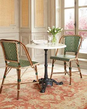Dose Of Design Love It Parisian Bistro Furniture