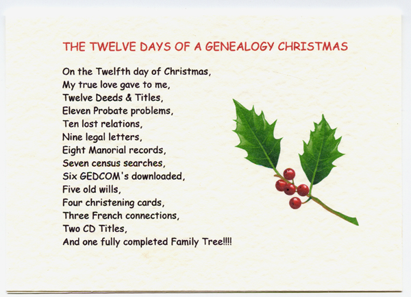 Image result for genealogy christmas greetings