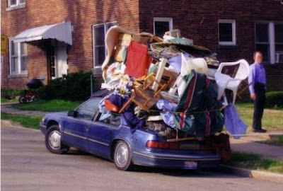 My Pointless Overloaded Moving Day