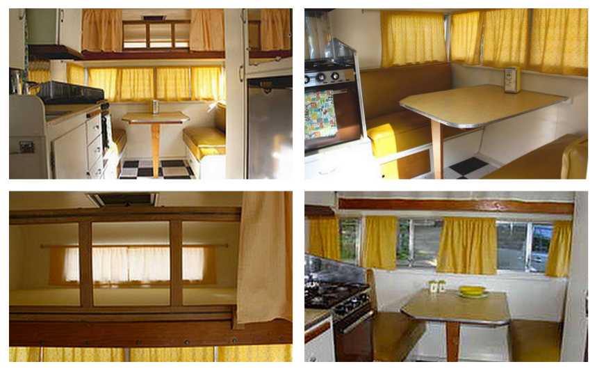 Happy Day Vintage: Mobile Home Mondays - - Mobile Home Remodel Before And After