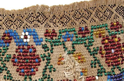 historical beadwork, smocking, shirring, pleatwork, Robin Atkins collection