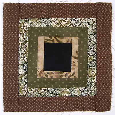 God's Eye Quilt, block 4, by Robin Atkins