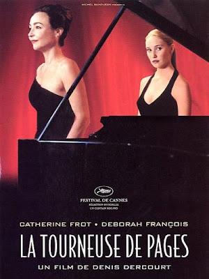 La cambiadora de páginas, La tourneuse de pages, Denis Dercourt, 2006
