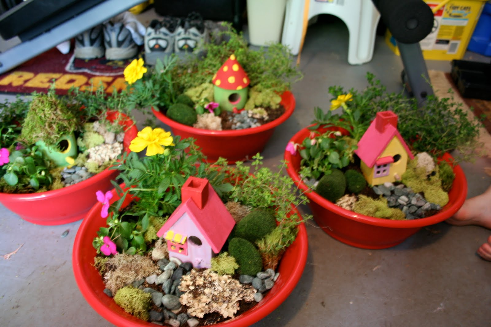 Fairy Gardens Are A Great Way To Bring Out The Imagination In Children And Fun Of Indoors