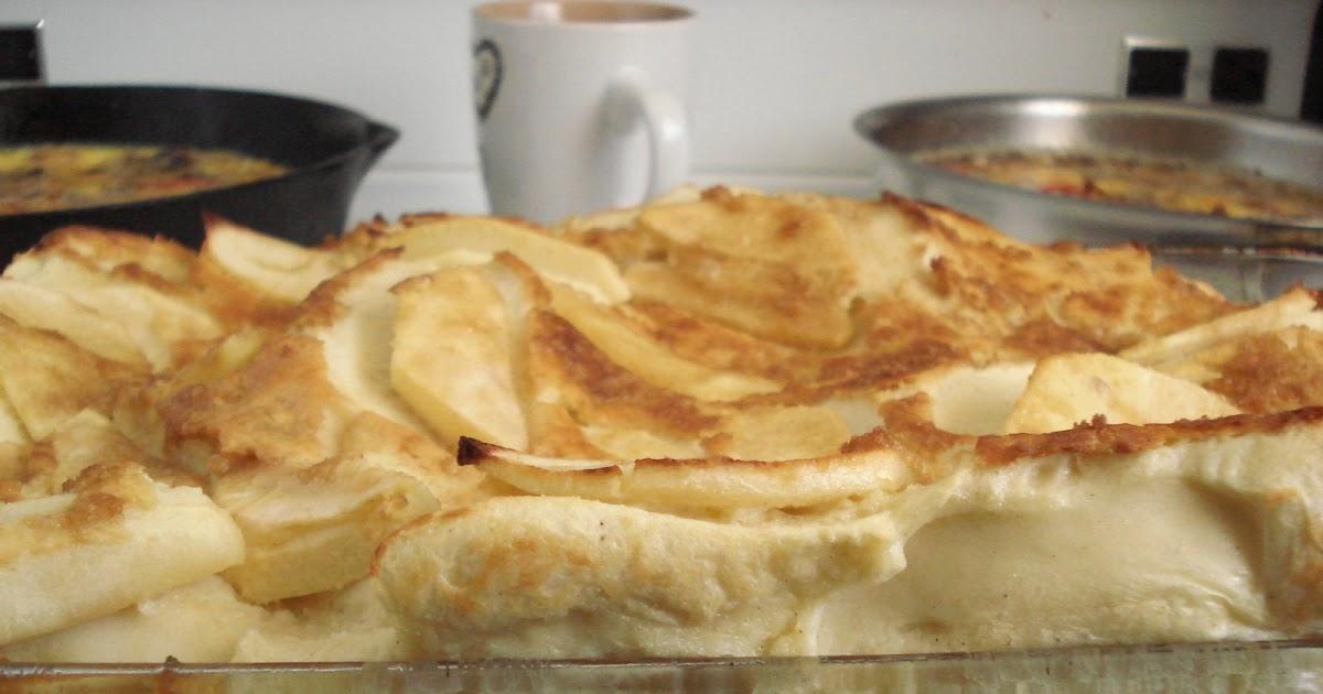 Mennonite Girls Can Cook Apple Puff Pancake