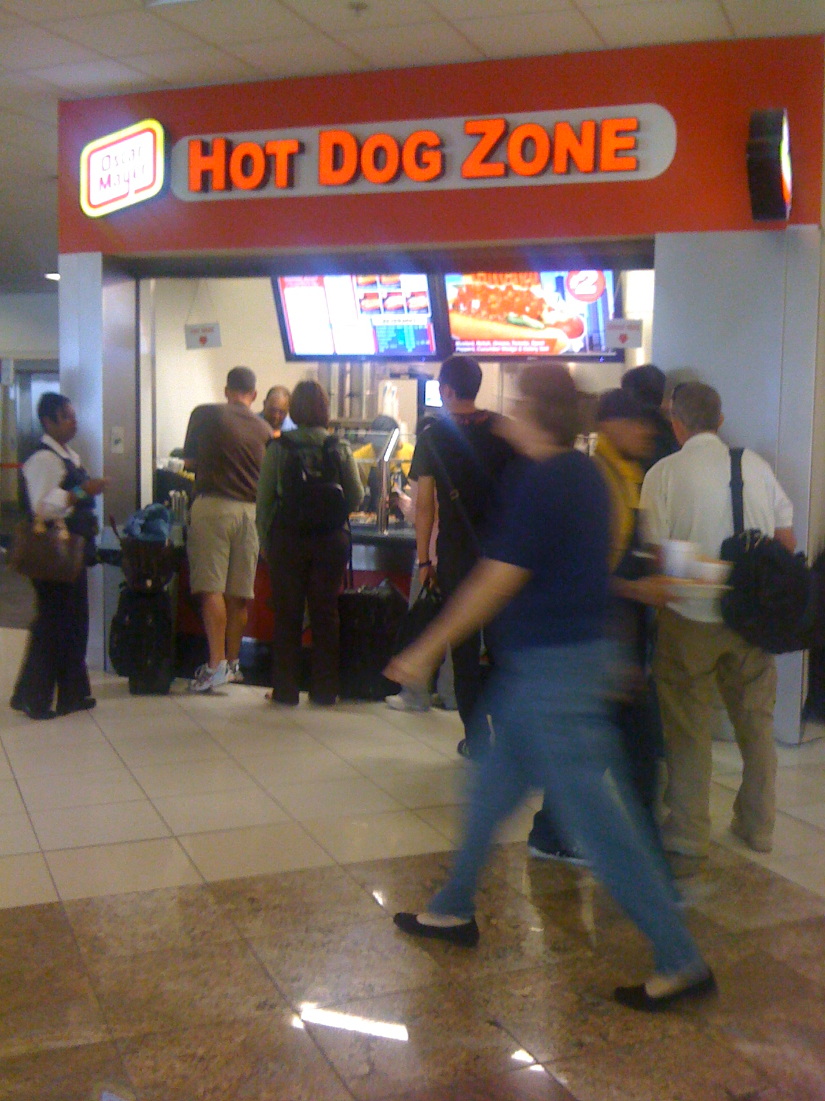the west virginia hot dog blog atlanta hdj review jackson hartsfield airport concourse c hot. Black Bedroom Furniture Sets. Home Design Ideas