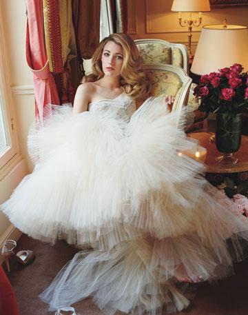 Blake Lively Wedding Dress Photos