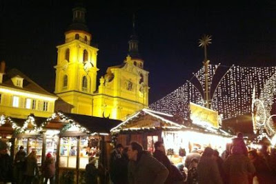 Ludwigsburg, a Baroque German Christmas Market in Stuttgart, Germany