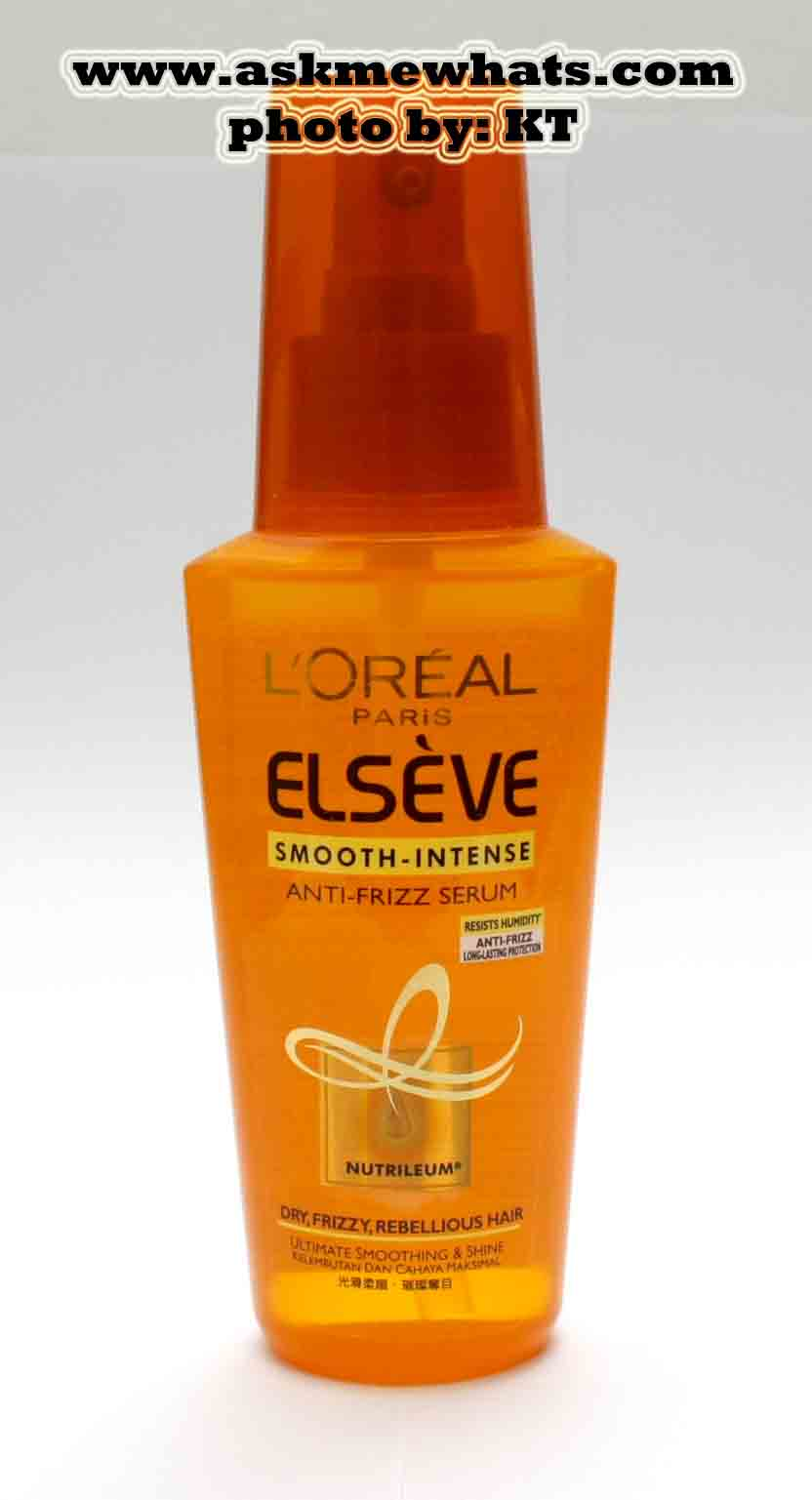Amw Reviews L Oreal Elseve Anti Frizz Serum