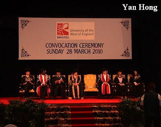 UWE大学毕业典礼