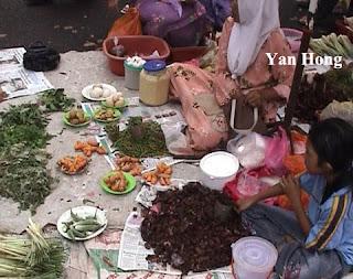 彭亨淡马鲁星期日农民市集