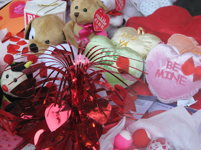 Valentine's Day Hearts and Toys