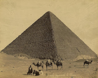 Seven Wonders of the World Great Pyramid of Giza, Library of Congress, Prints & Photographs Division, [reproduction number, LC-DIG-ppmsca-03950]