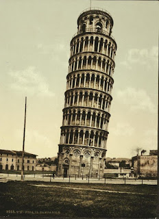 The Leaning Tower, Pisa, Italy, Credit Line: Library of Congress, Prints & Photographs Division, [reproduction number, LC-DIG-ppmsc-06581]