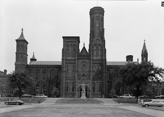 mithsonian Institution Building  the Castle, Credit Line: Library of Congress, Prints & Photographs Division, HABS [or HAER or HALS], Reproduction number [e.g., 'HABS ILL, 16-CHIG, 33-2 ']