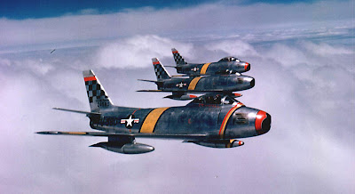 F-86 Sabres Jets in Korea