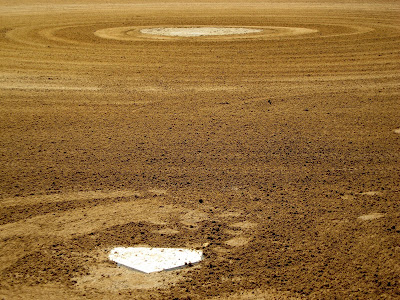 Home Plate Pitchers Mound