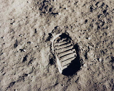 Apollo 11 Bootprint (footprint)