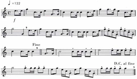 Public Domain Audio Video: Bugle Calls