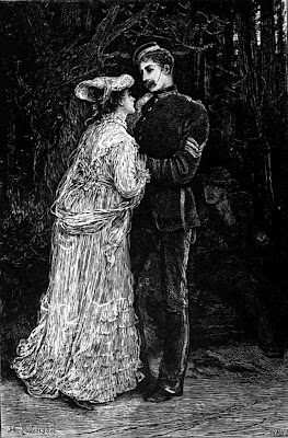 Bathsheba Everdene and Sergeant Frank Troy, Far from the Madding Crowd