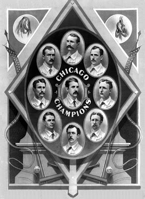 1876 Champion Chicago White Stockings National League of Professional Baseball Clubs