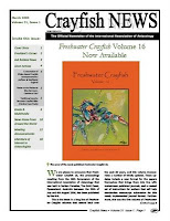 March issue of Crayfish News