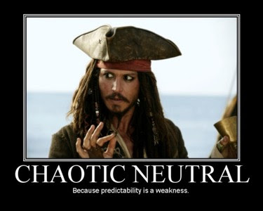 Jack Sparrow: Chaotic Neutral