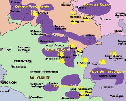 Lavender Fields France Map.Lavender Time Walkprovence