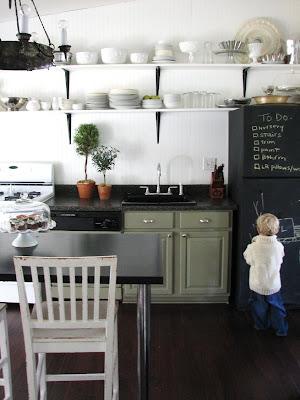 Dear TEOT: Chalkboard on the fridge