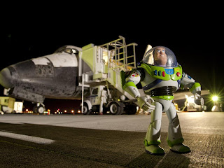 Buzz Lightyear regresa de la ISS