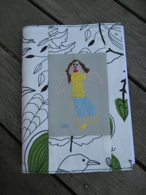 My Sewing Cupboard Notebook Cover With Drawing