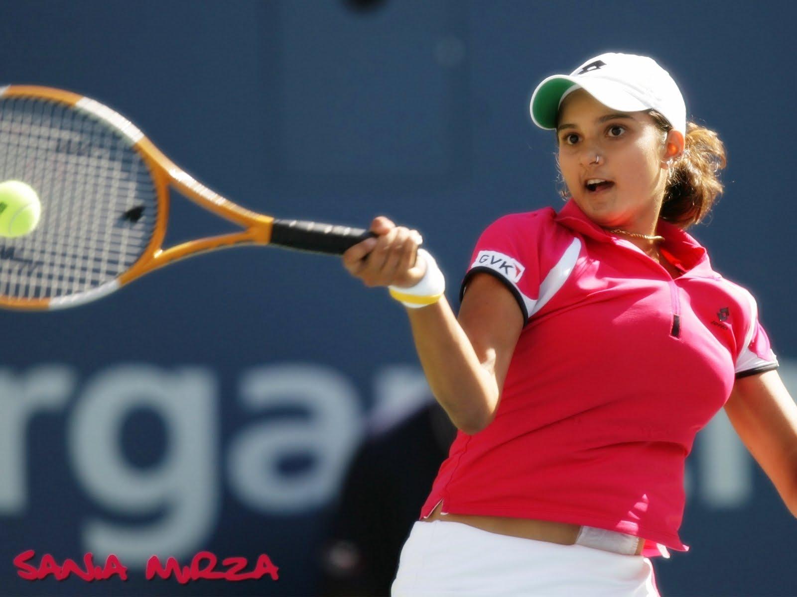 Sania Mirza Widescreen Wallpapers - Tennis Star  Female -2012