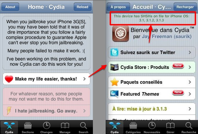 IPHONE GRATUIT FICHIER 3GS RESTAURATION TÉLÉCHARGER
