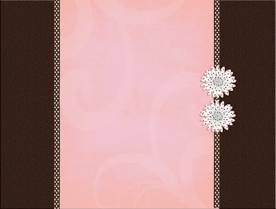 Cute Pink Owl Wallpaper Background Bloggers Custom Blog Designs Pink Brown Dots