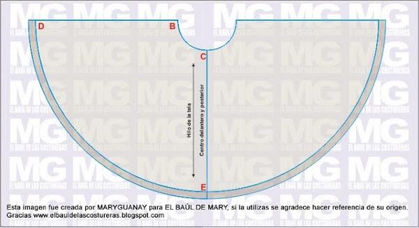 5d7d749e5 Falda de circunferencia completa