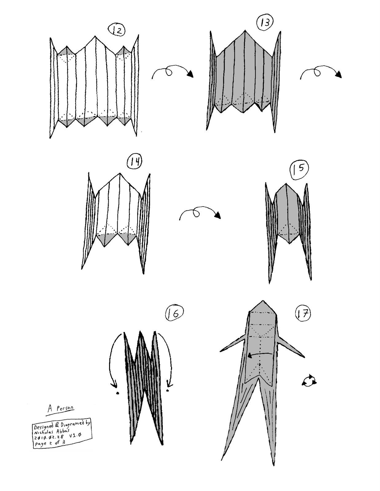 A Crisp Fold: Diagrams