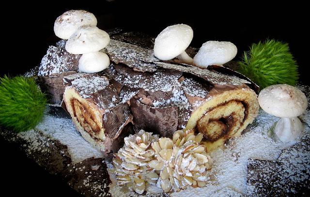 French Yule Log Cake History