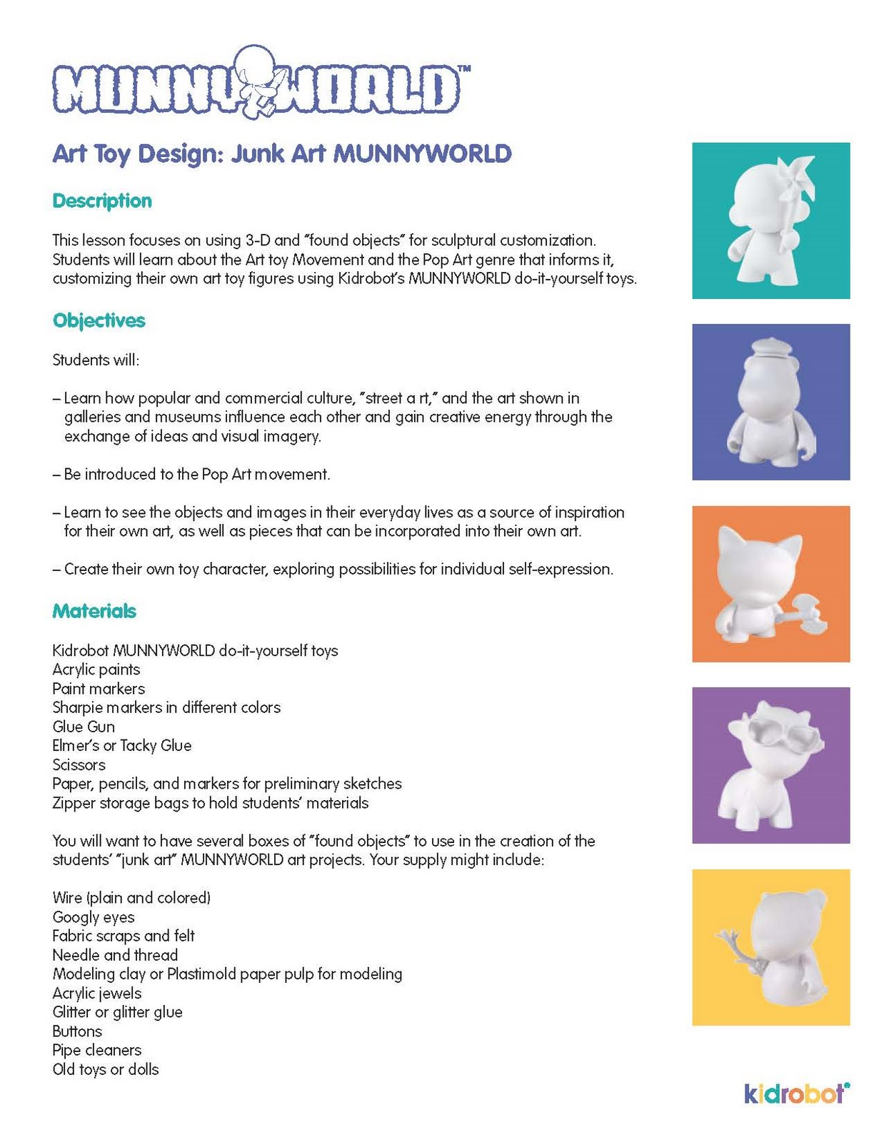 Nick Birch Fmp Design Context Kid Robot Munny World