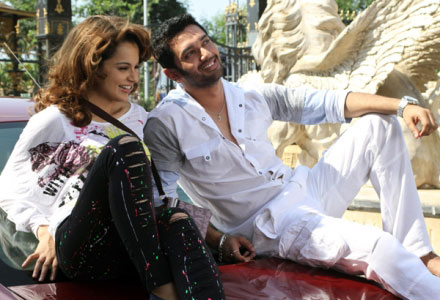 Bollywoooood Kangana Ranaut First Look With Chirag Paswan In One And Only
