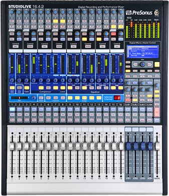 gss soundboard presonus studiolive 16 4 2 digital mixer review. Black Bedroom Furniture Sets. Home Design Ideas
