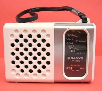 Etsy Vintage: Vintage Sanyo AM Transistor Radio