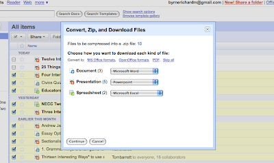 Free Technology For Teachers Export Your Google Docs As A Zip File