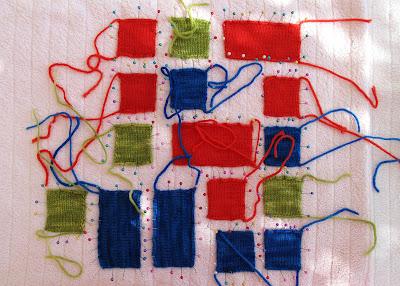 Fabric and Crochet Heart Tutorial: Part 2