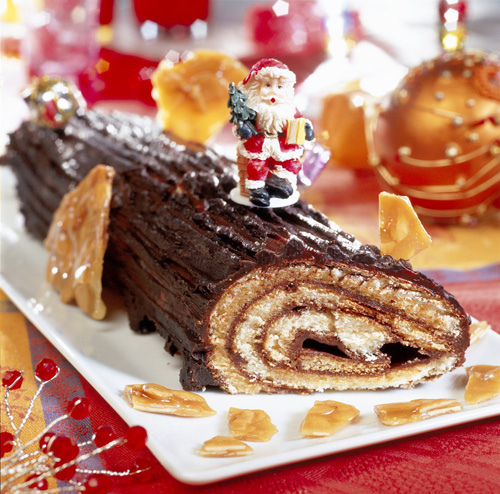 Blog Image De Noel.A Blog For English Lovers Christmas Food Buche De Noel