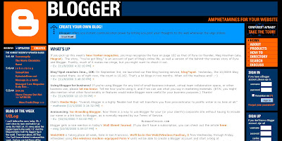 Blogger has ever been ane of the greatest  Evolution of  Blogger 1999 - 2009