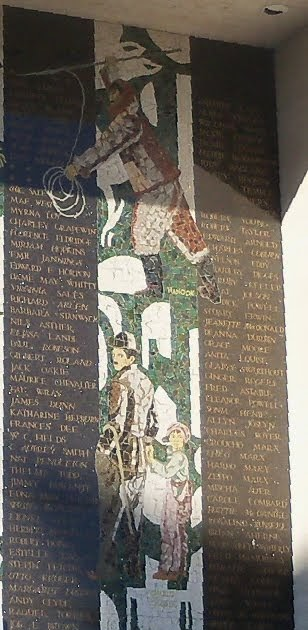 History Los Angeles County Hollywood Mosaics